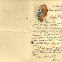 Letter, Hermann Joseph Muller Jr. to [Hermann Joseph Muller Sr.]